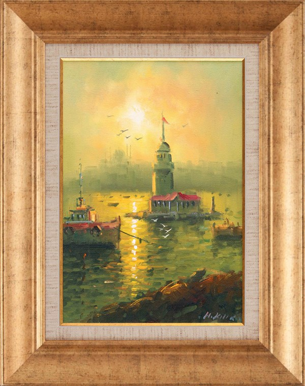 Maiden's Tower |Oil Painting