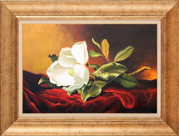 Magnolia on the Table | Oil paintings