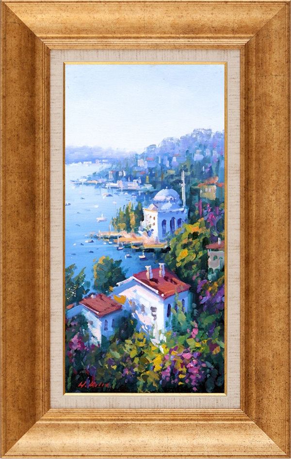 In the Bosphorus | Oil paintings