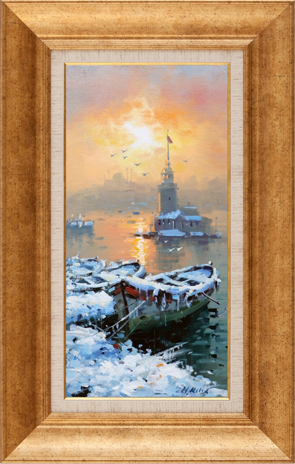 Maiden's Tower | Oil paintings