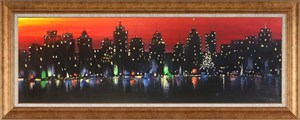 Lights of City  | Oil Painting