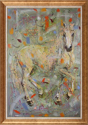 Attitude of Horses | Animal Oil Painting