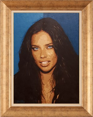 Adriana Lima | Figurative Oil Painting