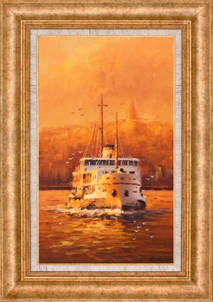 Evening Ferry | Oil paintings