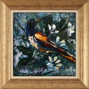 İn Green Side | Bird Oil Painting