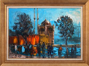 Color of Ortaköy | İstanbul Oil Painting