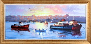Fishing Boats | Oil Painting