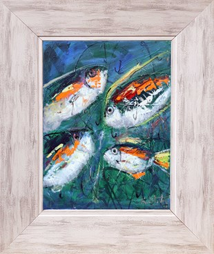 Fishs | Oil Painting