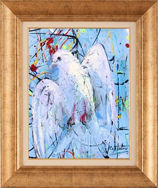 White Dove | Oil Painting