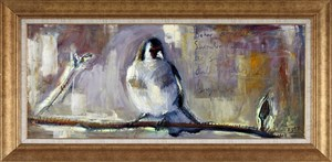 Birds on Branch | Animal Oil Painting