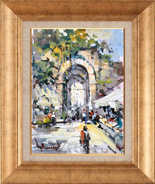 Old Market | Oil Paintings