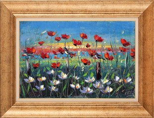 Poppy Field | Oil paintings