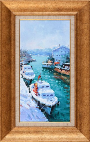 Winter in Göksu | Oil Painting