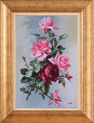Roses | Oil paintings
