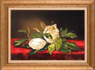 Magnolias | Oil Painting