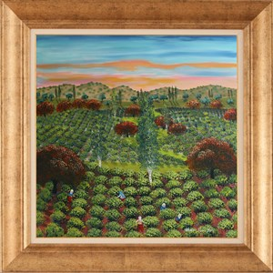 Harvest Time-1 | Oil Painting