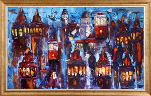 Dream of İstanbul | İstanbul Oil Painting