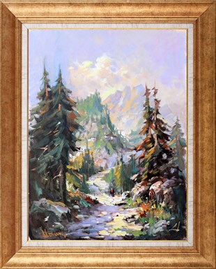Black Sea Mountains | Oil Painting