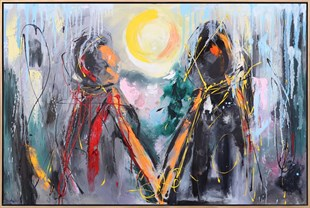 Gathering Hands | Oil paintings