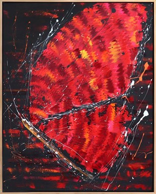 Red Butterfly | Oil paintings