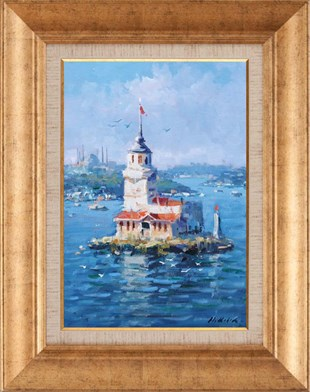 Maidens Tower | Oil paintings
