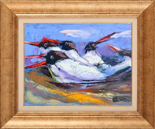 Seagulls | Oil Painting