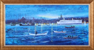 Blue Istanbul | Oil Painting
