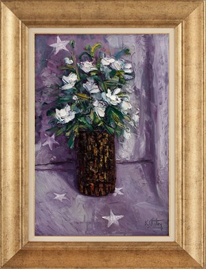 Shining Flowers | Flower Oil Painting
