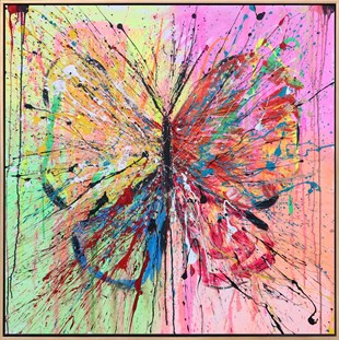 Colorful Butterfly10 | Butterfly Oil Painting