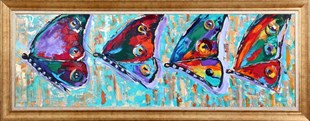 Colorful Butterfly11 | Butterfly Oil Painting