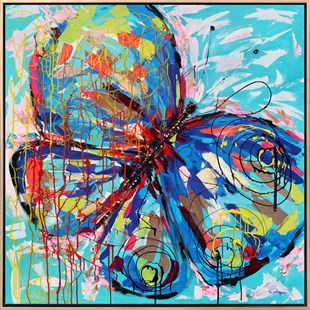 Colorful Butterfly5 | Butterfly Oil Painting