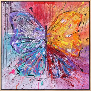 Colorful Butterfly9 | Butterfly Oil Painting