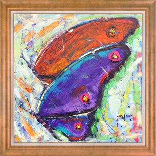 Colorful Wings | Oil Paintings