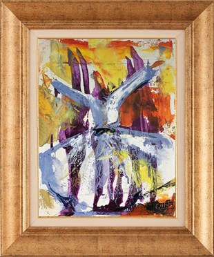 Whirling Dervish| Oil Painting