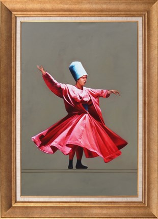 Whirling Dervish | Oil Painting