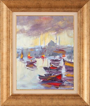 Boats |Oil Painting