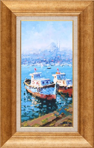 Boats | Oil Painting