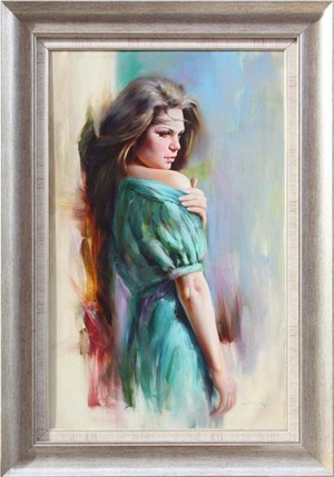 Beauty | Şahruki | Figurative Oil Painting
