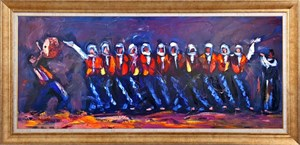 To Dance The Halay | Oil Painting