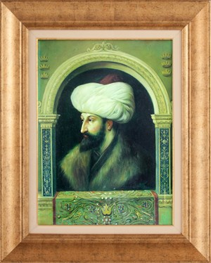 Fatih Sultan Mehmet | Figurative Oil Painting