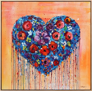 Womens Heart | Oil paintings