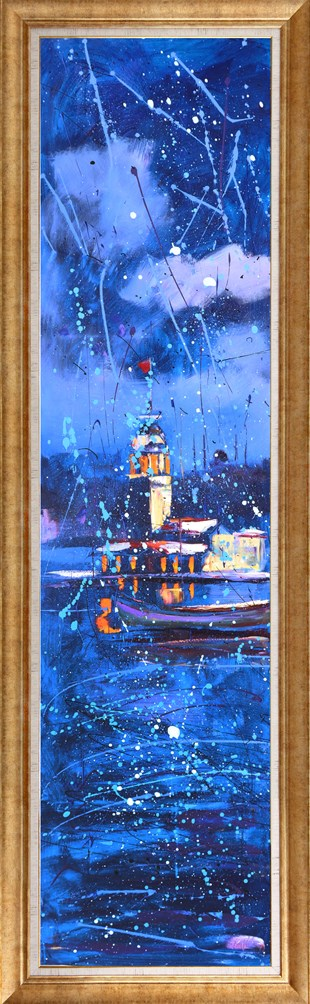 Maiden Tower | Oil Painting