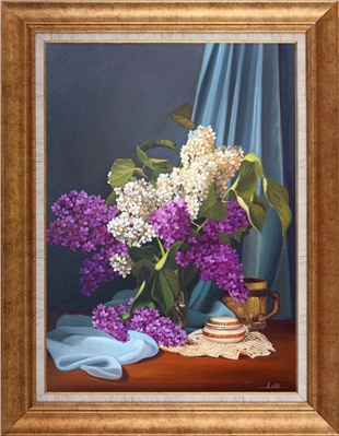 Lilacs | Flower Oil Painting