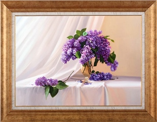 Lilacs | Oil paintings