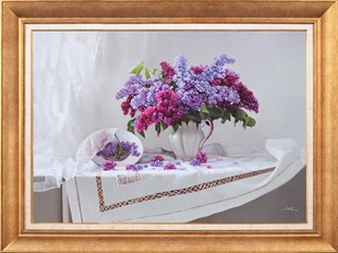 Lilacs| Oil Painting