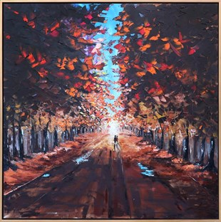 Autumn Forest | Oil paintings