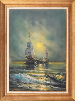 Boats | Oil Paintings